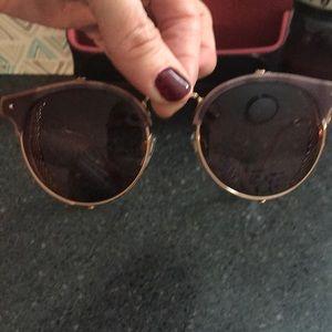 Valentino sunglasses rose gold RARE